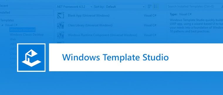 Windows Template Studio Logo
