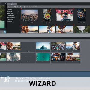 Easy wizard for video editing