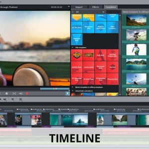 Movie edit pro plus timeline screenshot