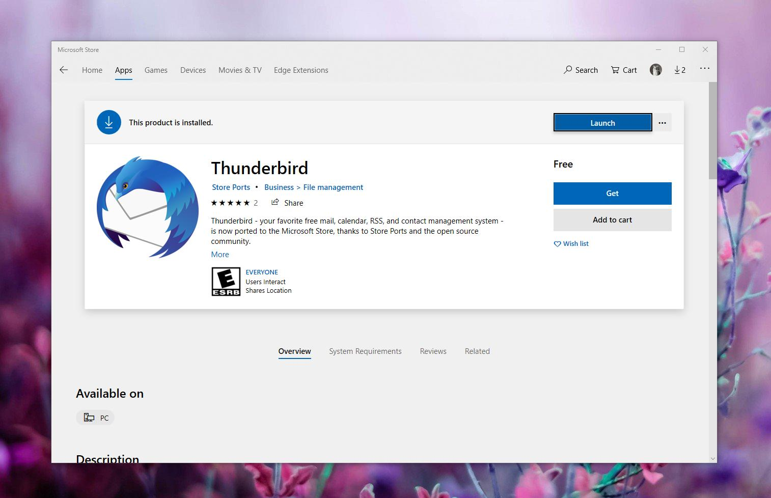Mozilla Thunderbird for Windows 10 Released in the ...