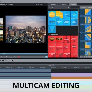 Multicam editing video editor