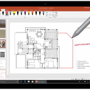Powerpoint 2019 draw with pen