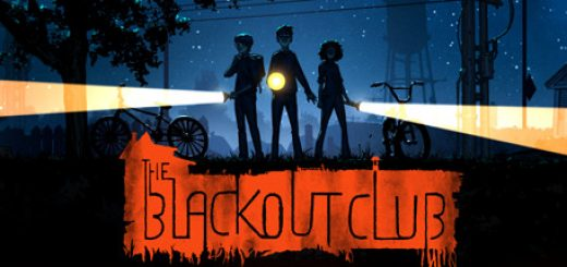 The blackout club official header