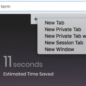 Brave browser new tab