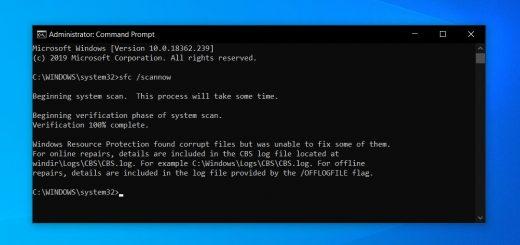 Windows 10 sfc