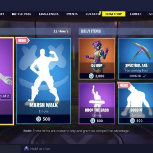 Fortnite battle royale new items