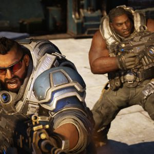 Gears 5 new characters black