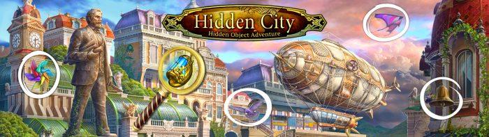 Hidden City: Hidden Object Adventure Game Logo