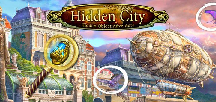Hidden city hidden object adventure official logo