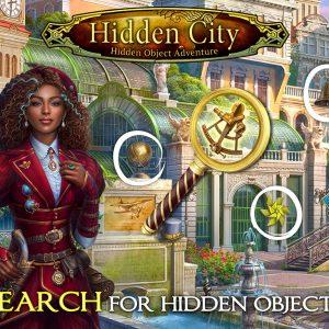 Hidden city hidden object gameplay screenshot