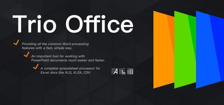 Trio office sofware logo