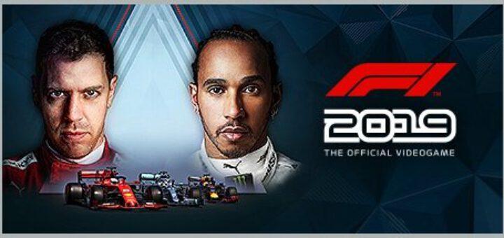 F1 2019 official logo