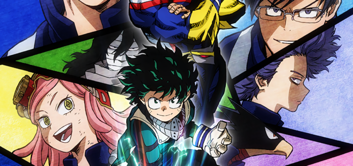 Awesome boku no hero background hd
