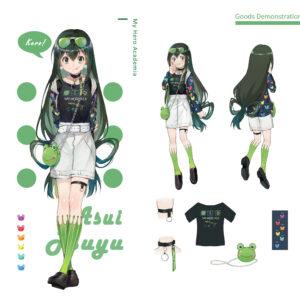 Dress like asui tsuyu normal