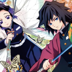 Giyuu with shinobu