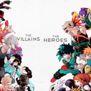Myheroacademia heroes vs villains
