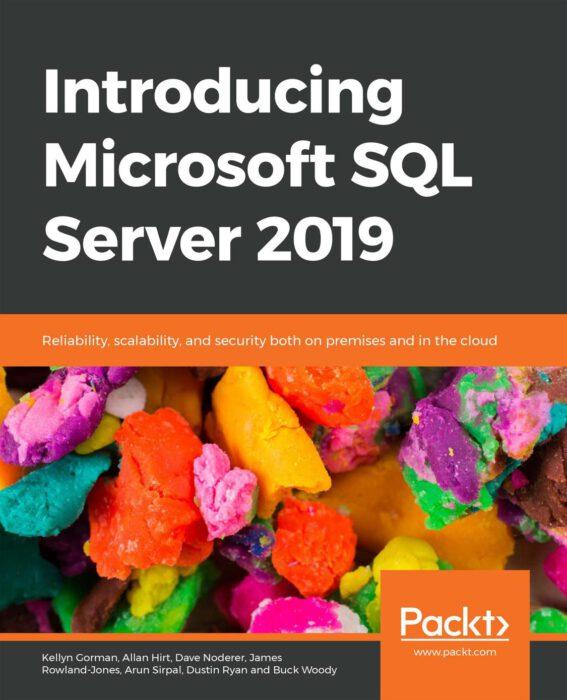 Intro to SQL Server 2019 Cover