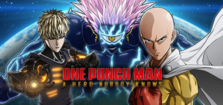One punch man a hero nobody knows official cover