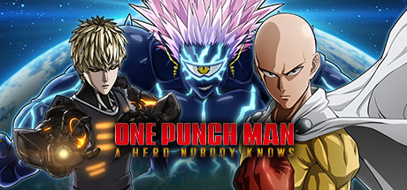 One Punch Man: A Hero nobody knows official header