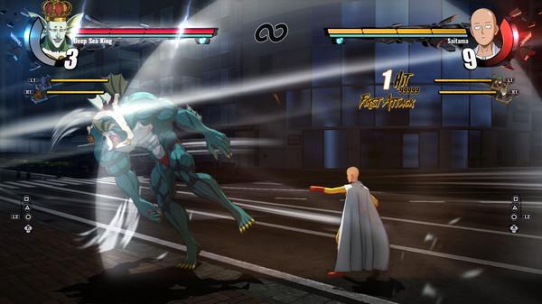 Saitama vs bad guy game