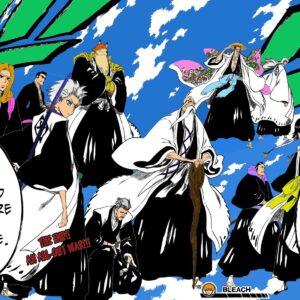 Bleach manga colored