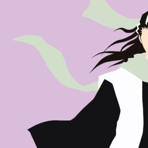 Byakuya vector wallpaper