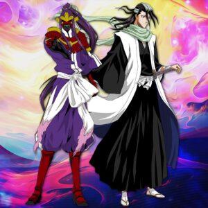 Byakuya with his sword