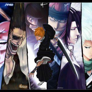 Ichigo and friends