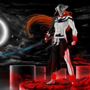 Ichigo cool as hollow