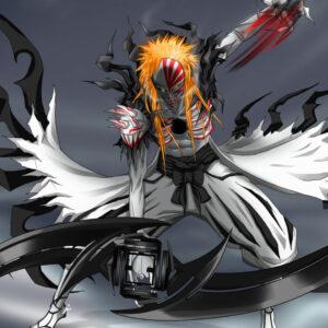 Ichigo hollow form swords