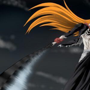 Ichigo hollow with sword cool