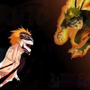 Ichigo vs naruto wallpaper