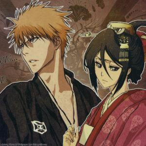 Ichigo with rukia