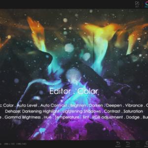 Photoscape x pro color editor