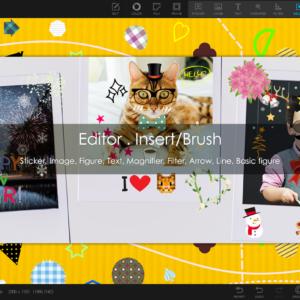 Photoscape x pro insert into photo option