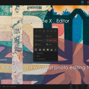 Photoscape x pro windows10
