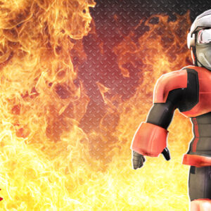 Roblox fire background