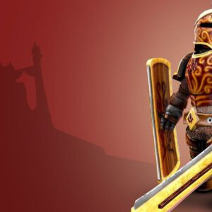 Roblox knight character