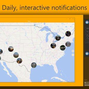 Diarium live map