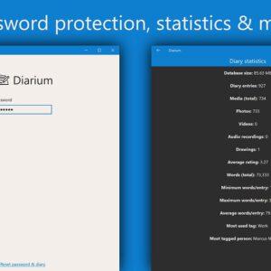 Diarium password protected