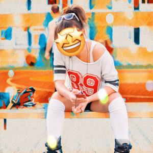 Emoji swap face
