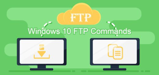 FTP Commands for Windows 10 photo