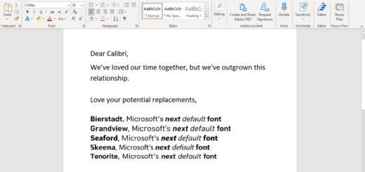 Calibri will no longer be the default microsoft office font 532771 2