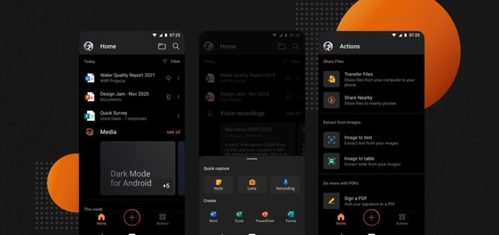 Microsoft office app for android updated with a dark mode 532983 2