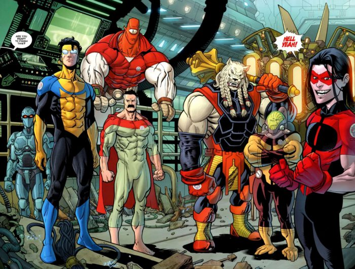 Invincible cool characters