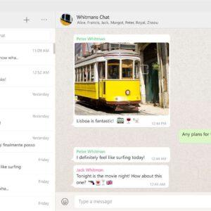 Lightmode whatsapp web