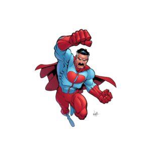 Omni man flying