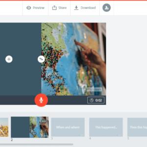 Adobe Spark Screenshot 1