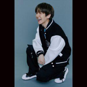 Baekhyun laughing