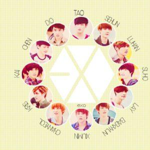 List of all EXO members wallpaper